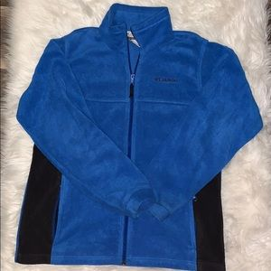 Boys Size 18/20 Columbia Zip Up Jacket